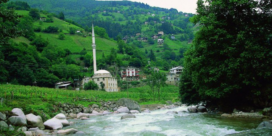 İkizdere Dereköy Köyü Resimleri