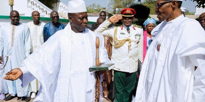 Gambiya'da İktidar Savaşı