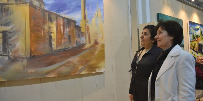 Dünya Ressamlarının Adana'yı Resmettiği Sergi Açıldı