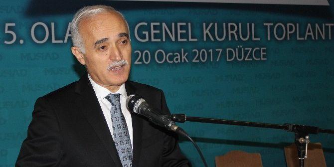 Müsiad Başkanı Nail Olpak: