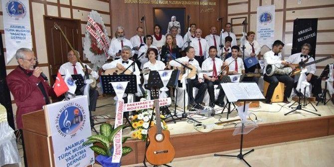 Anamur Türk Musikisi Yaşatma Derneği'nden Kış Konseri