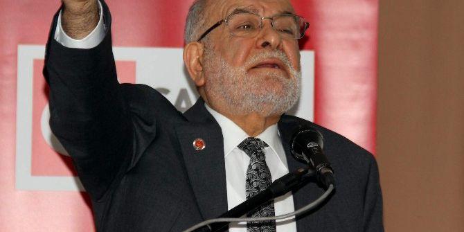 Saadet Partisi Gelen Başkanı Temel Karamollaoğlu: