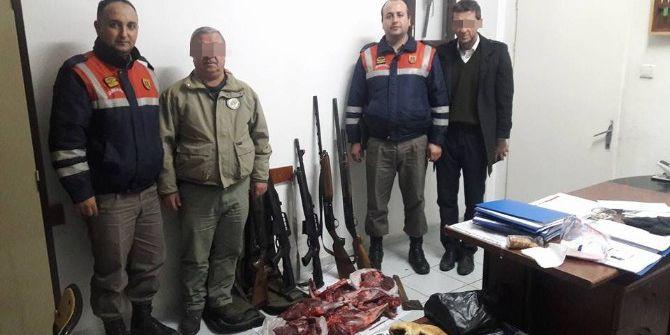Kastamonu'da Kaçak Avcılara 12 Bin Tl Ceza