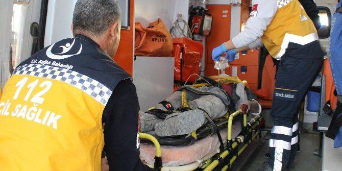 Adıyaman'da İnşaattan Düşen 2 İşçi Yaralandı