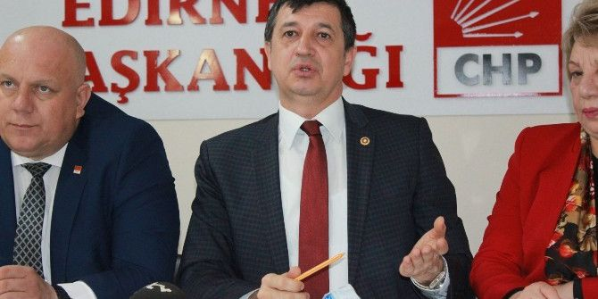 Chp'li Edirne Milletvekillerinden 'Anayasa' Tepkisi