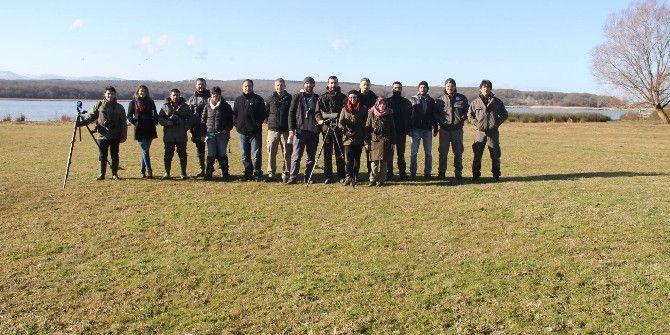 Sinop'ta Kuş Sayımı Yapıldı