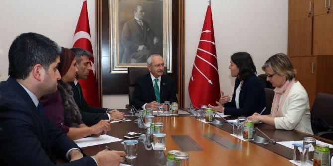 Kılıçdaroğlu, Avrupa Parlementosu Türkiye Raportörü Kati Piri İle Görüştü