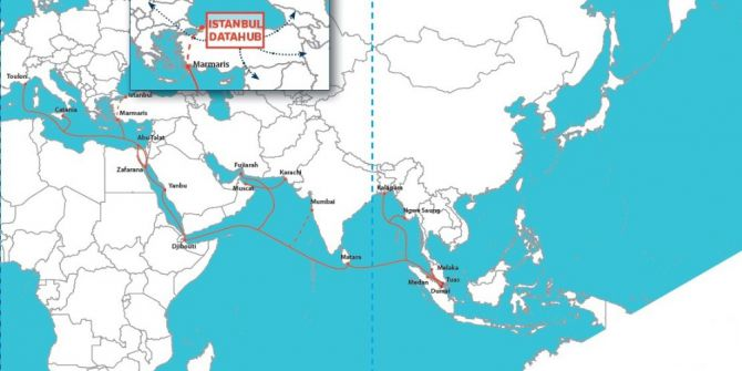 17 Ülkeyi Birbirine Bağlayan Denizaltı Veri Hattı Projesi Faaliyete Geçti