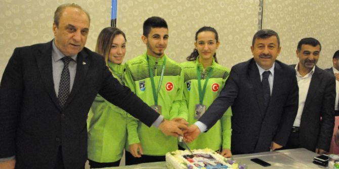 Darıca'lı Milli Karateci Üst Üste Beşinci Defa Avrupa Şampiyonu Oldu