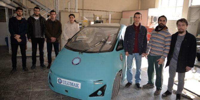 Öğrencilerin 'Anadolu'su Elektrikli Araçlara Örnek Olacak