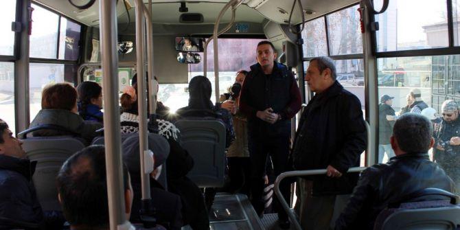 Edirne'de Şehir İçi Ulaşımda 'Sivil Polis' Denetimi