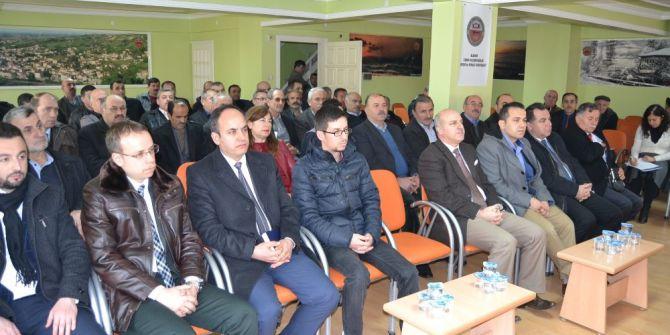 Alaçam'da Değerlendirme Toplantısı
