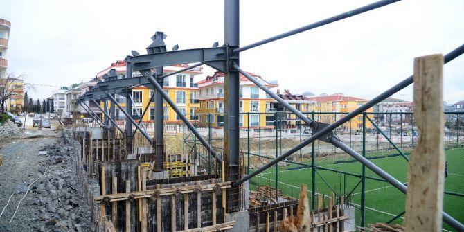 Kavaklı Hasan Doğan Stadı Yeni Yüzüne Kavuşuyor