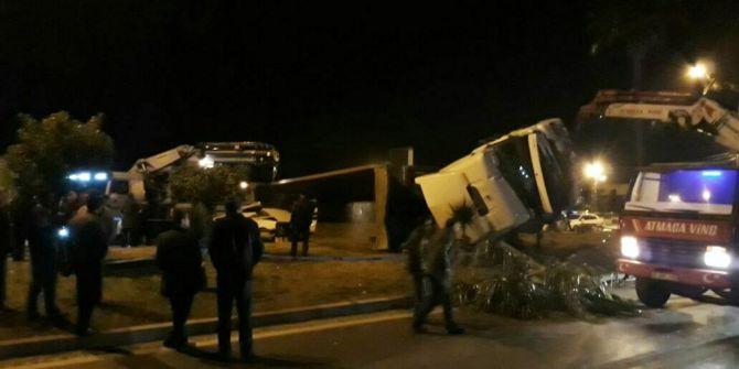 Hatay'da Trafik Kazası: 2 Ölü