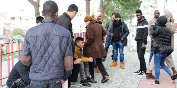 Balıkesir'de 33 Mülteci Yakalandı