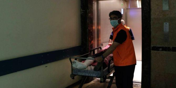 Hastanedeki Yangın Tatbikatı Gerçeği Aratmadı