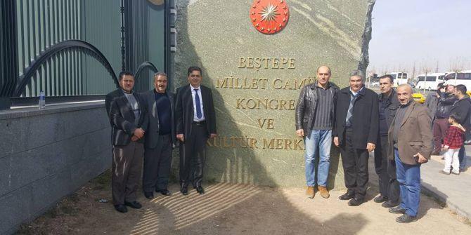Başkan Yalçın'dan Beştepe Millet Camii'ne Ziyaret