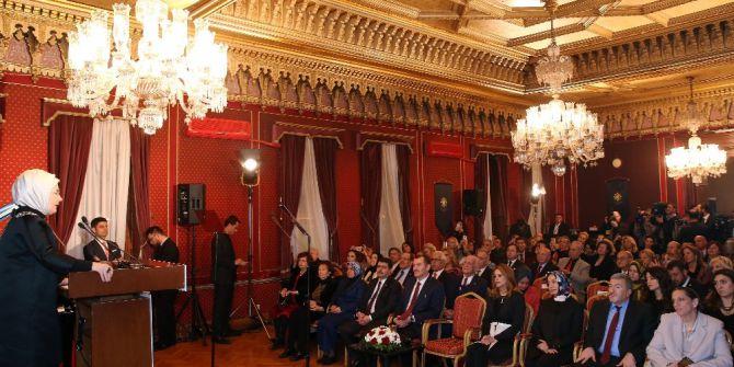 """Emine Erdoğan:""""ne Yazık Ki Abdülhamit Han'ın Mirasının Kıymeti Yeterince Anlaşılmamış Ve Tasfiye Edilmiştir"""""""