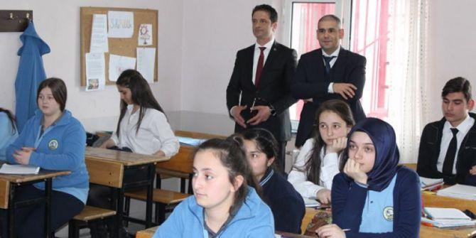 Milli Eğitim Müdürü Aşım'dan Okul Ziyaretleri