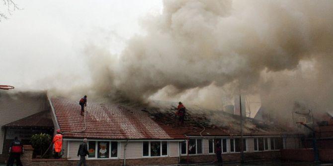 Anaokulu Binasının Çatısındaki Yangının Ardından
