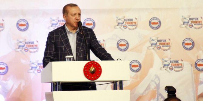 """Cumhurbaşkanı Erdoğan: """"Fatih Gemiyi Karadan Yürüttü, Biz Denizin Altından"""""""