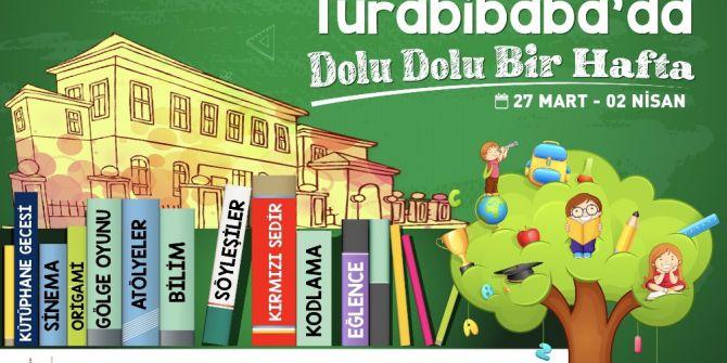 Turabibaba Kütüphanesi'nde Dolu Dolu Bir Hafta