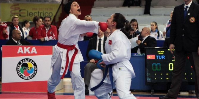 Balkan Şampiyonası'nda Yedi Madalya
