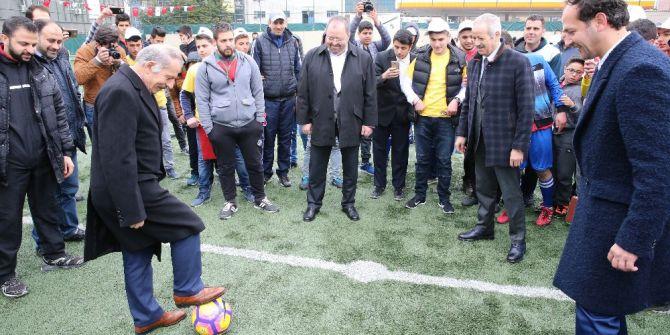 Suriyeli Çocuklar Futbol Liginde Ter Dökecek