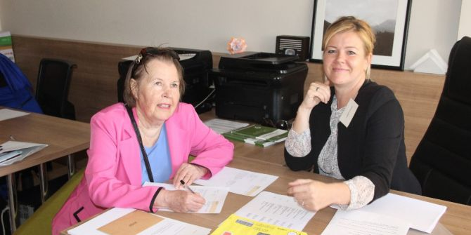 Finlandiyalılar Alanya'da Sandık Başına Gitti