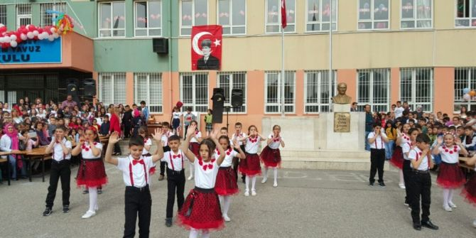 Çocukların 23 Nisanı Coşkuyla Kutladı
