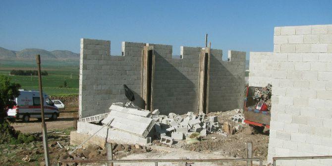 Araban'da İnşaat Duvarı Çöktü: 1 Ölü, 1 Yaralı