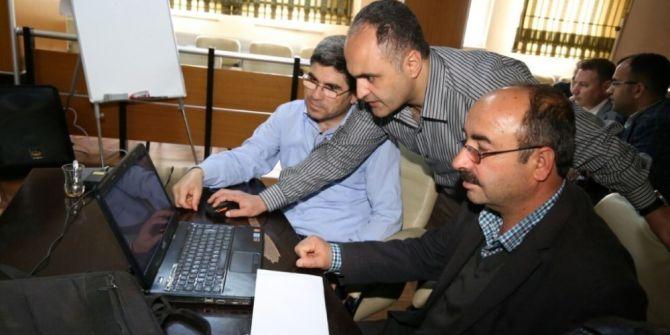 Adıyaman Belediyesinde Teknik Personele Netcad Eğitimi