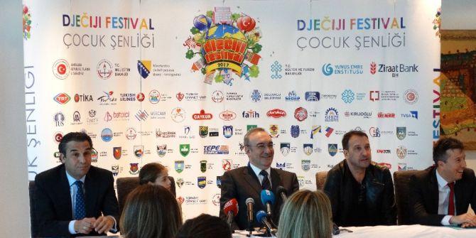"""Bosna Hersek'te Türkçe Öğrenen Binlerce Öğrenci """"Çocuk Şenliği""""nde Buluşacak"""