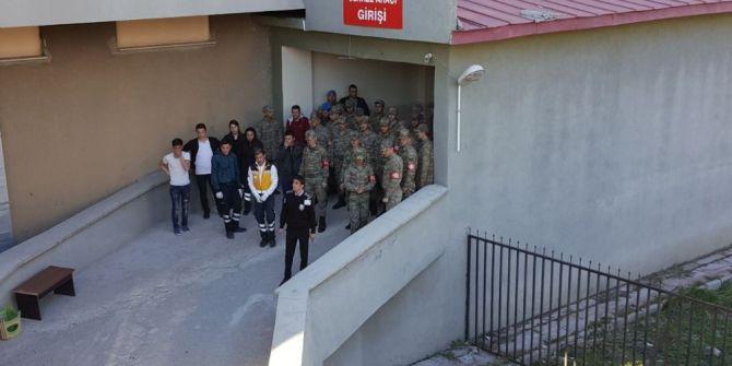 Şehit Cenazeleri Erzurum'a Getirildi