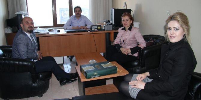Türkerler Holding'den İha'ya Ziyaret