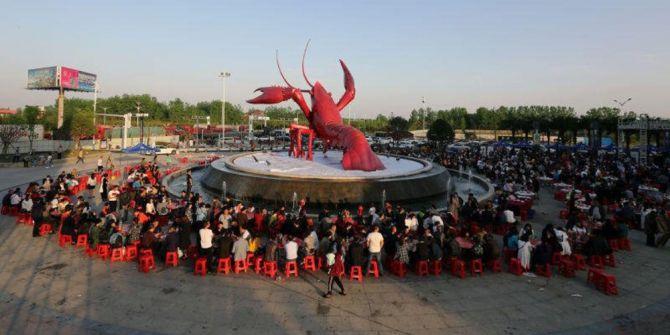 Çin'de Istakoz Festivali Düzenlendi