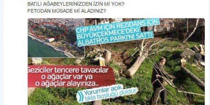 Gökçek'ten Albatros Parkı'nın Satılmasına Tepki