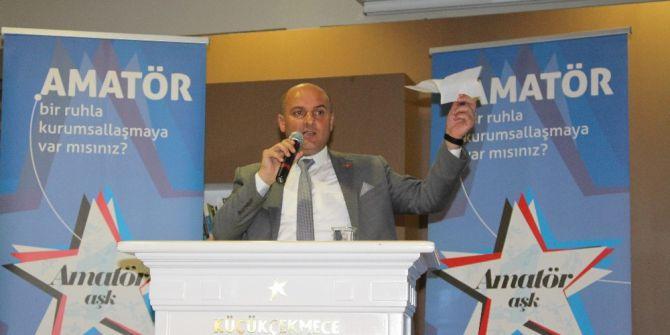 Seymen Gençtürk, İstanbul Amatör Spor Kulüpleri Federasyonu Başkanlığına Talip