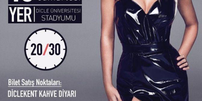 Sıla Diyarbakır'da Konser Verecek