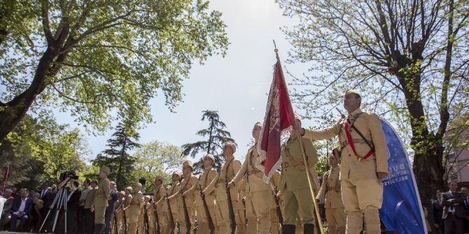 Mehmetçikler 102 Yıl Sonra Çanakkale Savaşlarına Uğurlandı