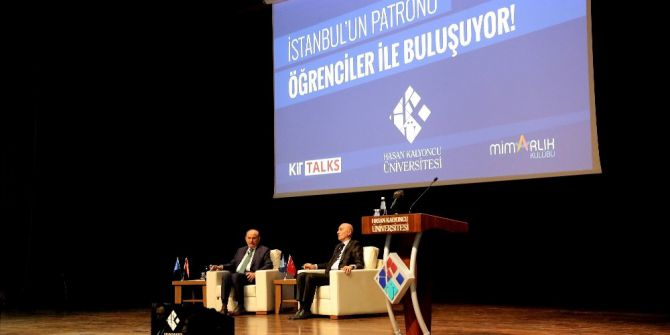 İstanbul'un Patronu Kadir Topbaş Hkü Öğrencileri İle Buluştu