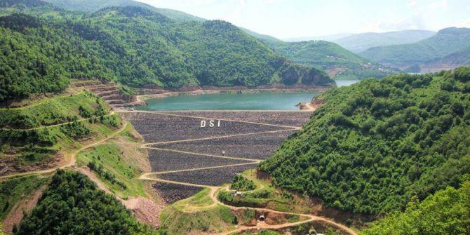 Topçam Barajı Tam Kapasite Enerji Üretiyor