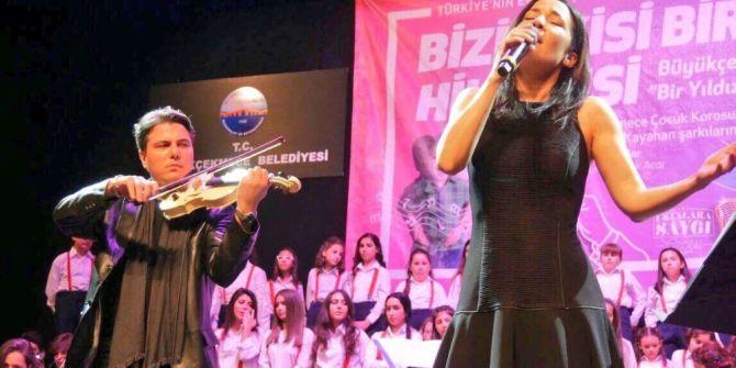Büyükçekmeceli Çocuklar Kayahan'ı Şarkılarıyla Andı