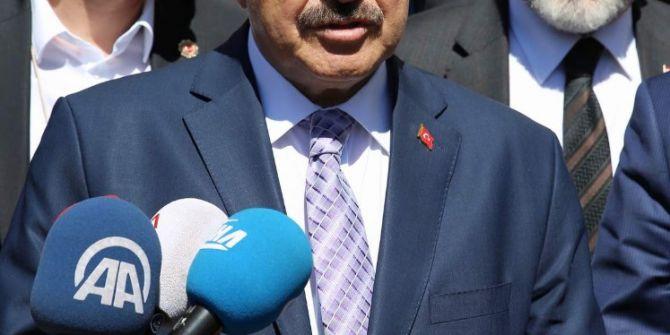 Orman Ve Su İşleri Bakanı Prof. Dr. Veysel Eroğlu'ndan, Chp'ye Aihm Eleştirisi: