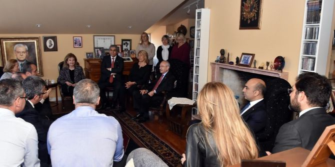 Başkan Hazinedar Chp Genel Başkanı Kılıçdaroğluyla Birlikte Teziç'in Ailesine Taziye Ziyaretinde Bulundu
