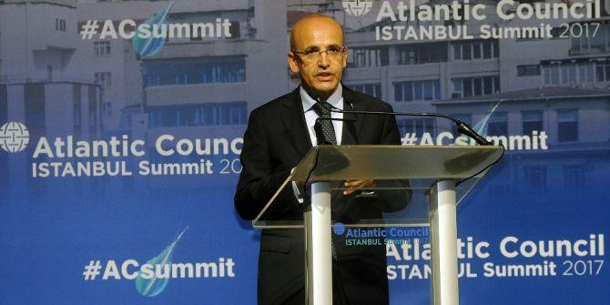 Başbakan Yardımcısı Mehmet Şimşek, Sigortacılarla Bir Araya Geldi