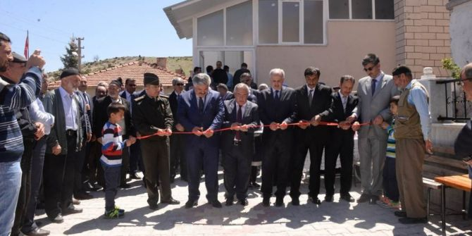 Seydiköy Camii İbadete Açıldı