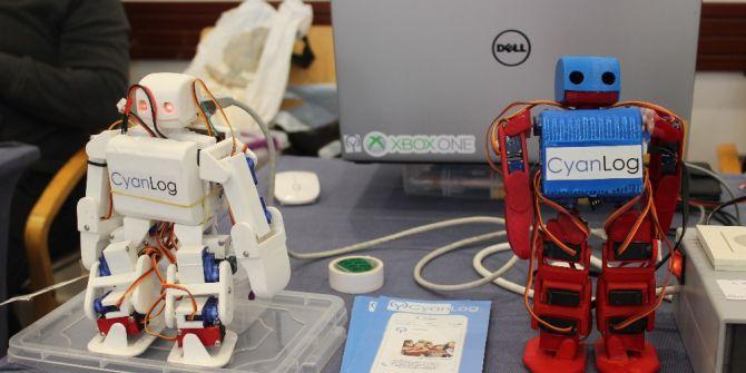 Geleceğin Robotları Bau'de Yarıştı