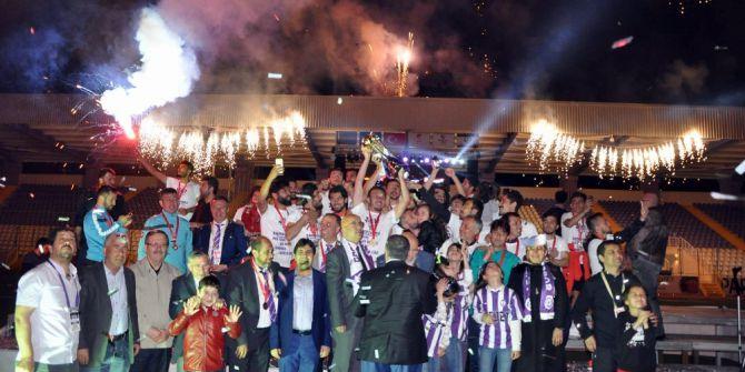 Spor Toto 3. Lig 3. Grup'da Şampiyon Afjet Afyonspor