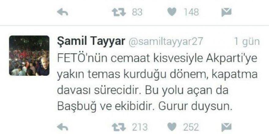 Şamil Tayyar'dan İlker Başbuğ'a Tepki